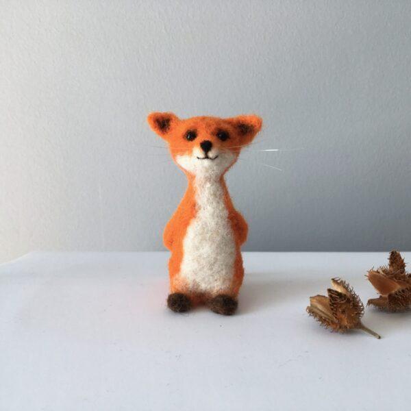 formlaut gefilzter Fuchs