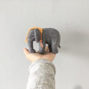 formlaut Elefant gefilzt