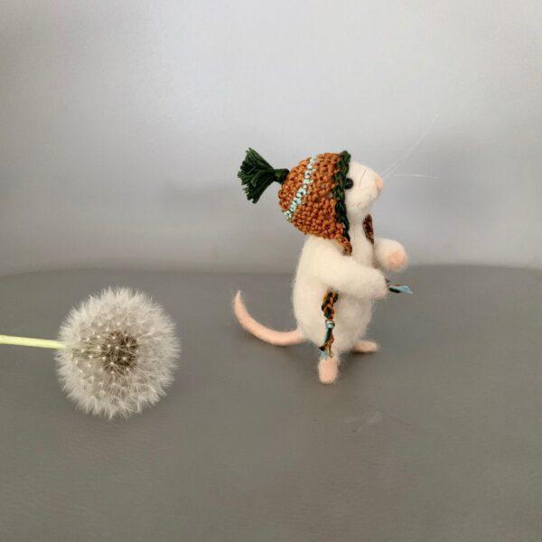 formlaut Maus gefilzt