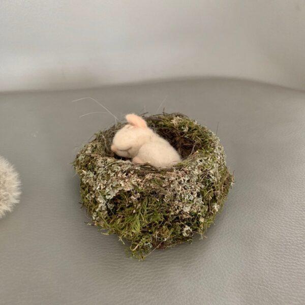 formlaut schlafende Maus gefilzt