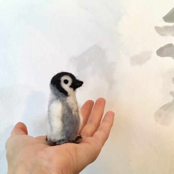 gefilzter Pinguin formlaut