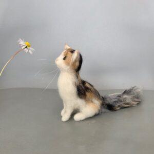 formlaut Katze gefilzt