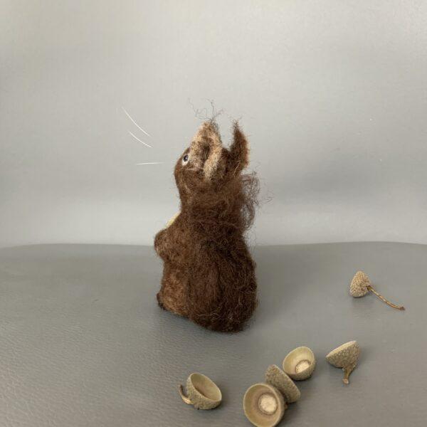 Formlaut Filzobjekt Eichhörnchen