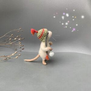 Maus gefilzt