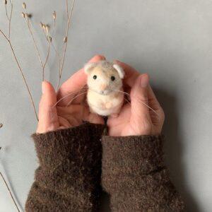 Hamster gefilzt