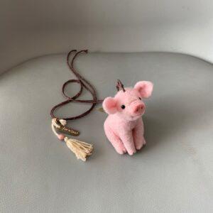 Schweinchen gefilzt