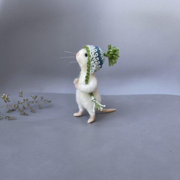 nadelgefilzte Maus