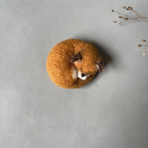 gefilzter Fuchs